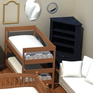 interior furnishings 3ds