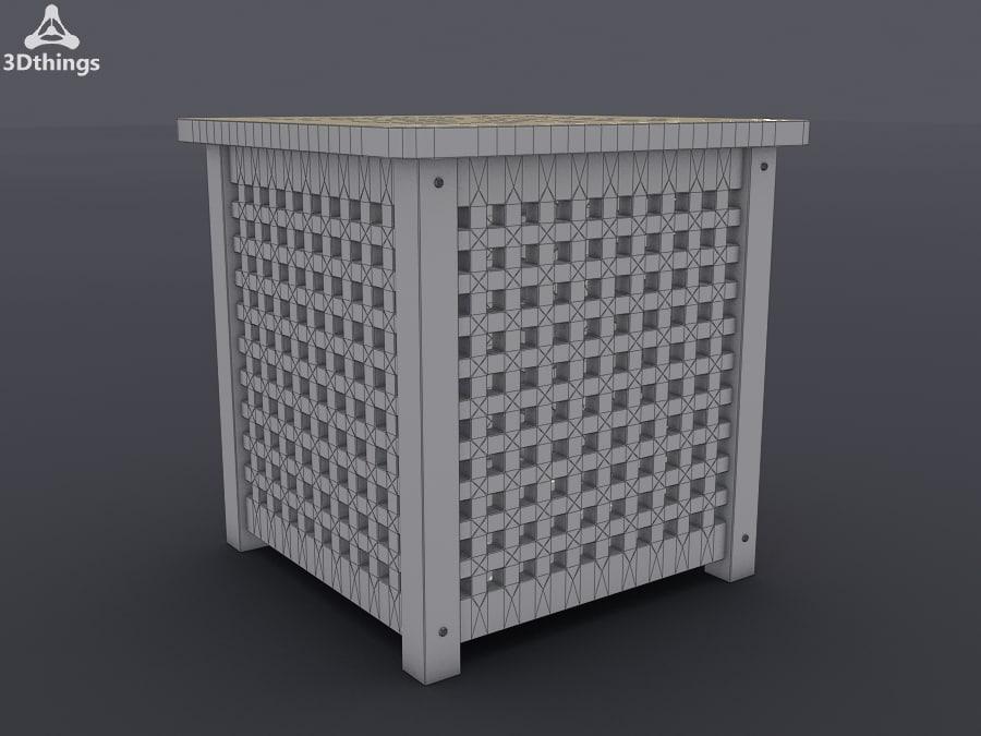 stand closet 3d max