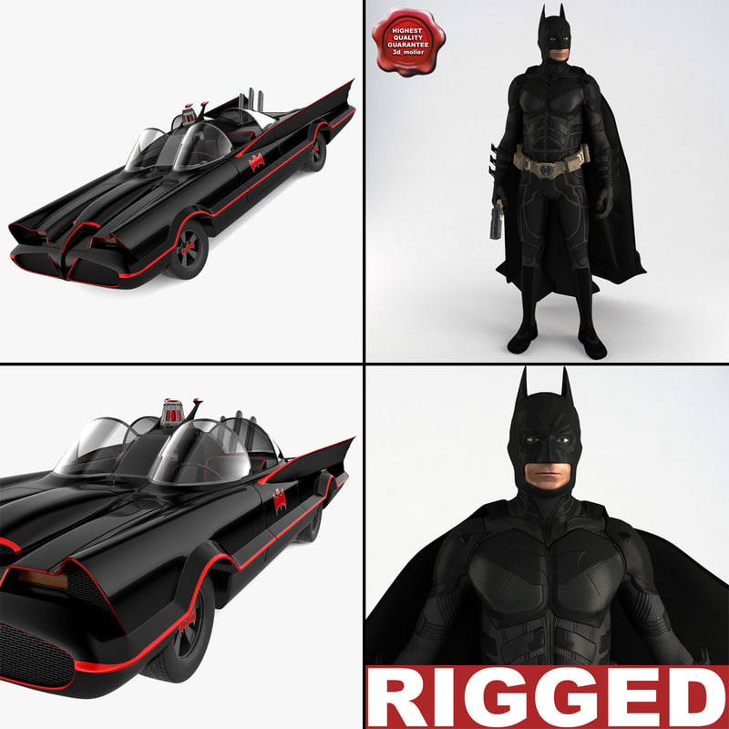 batman v1 obj