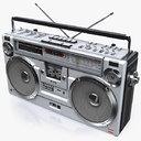 Retro Boombox SHARP GF-9292