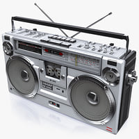 Retro Boombox SHARP GF-9292