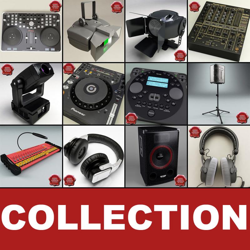 3d dj equipment v4