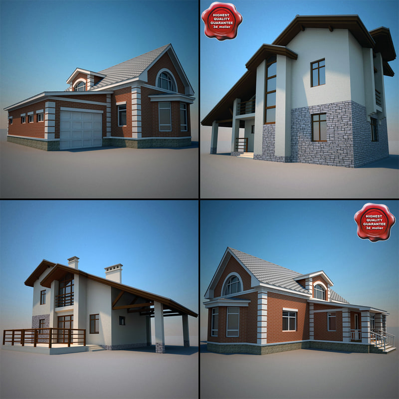 houses v2 3d model