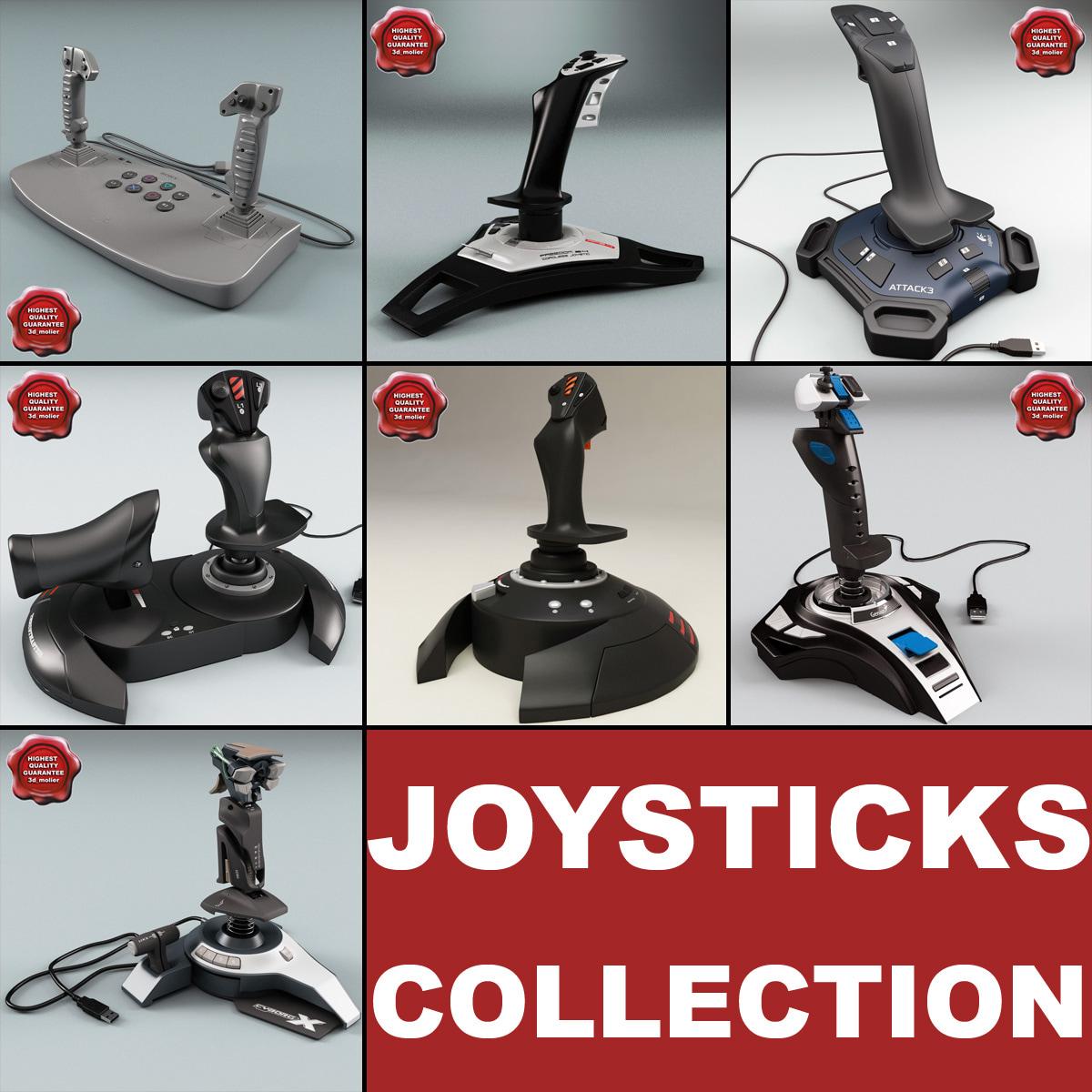 3ds max joysticks v3