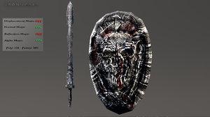 sword shield 3d 3ds