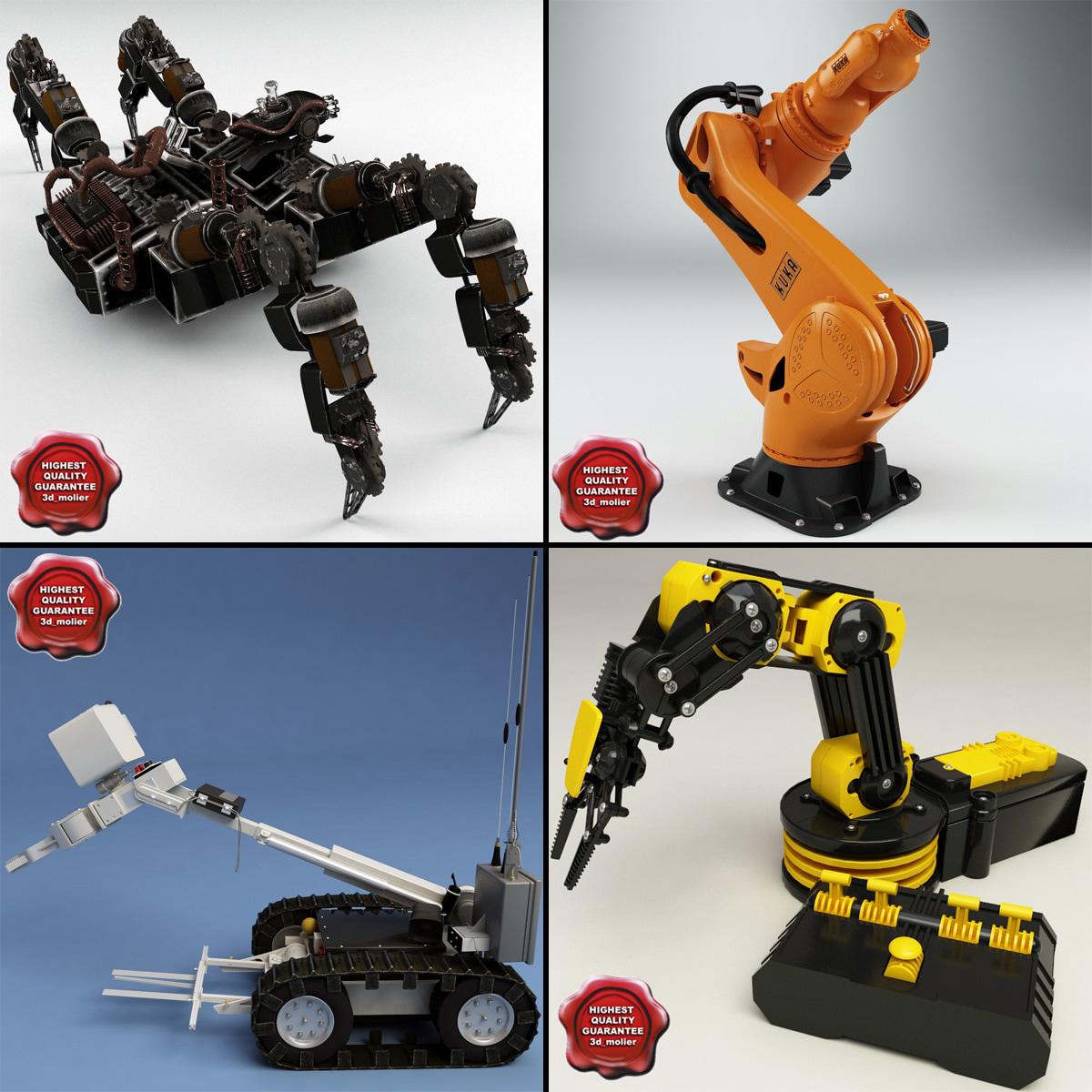 3dsmax robots v3
