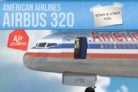 airbus 320 obj
