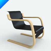 3d armchair 42