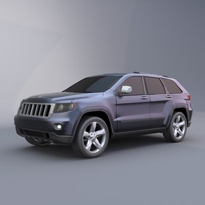 3ds max jeep grand cherokee 2011
