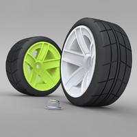 3dsmax kyosho car wheels