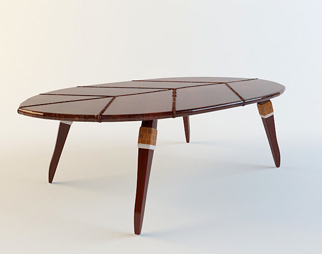 3d max ethnic coffee table zulut