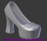 Himeko Design 04 - Gothic Lolita Shoes 02