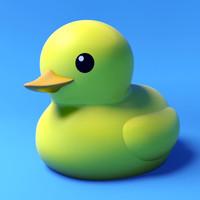 rubber duck 3d model