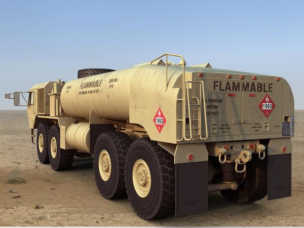 3d model hemtt a4 m978 fuel