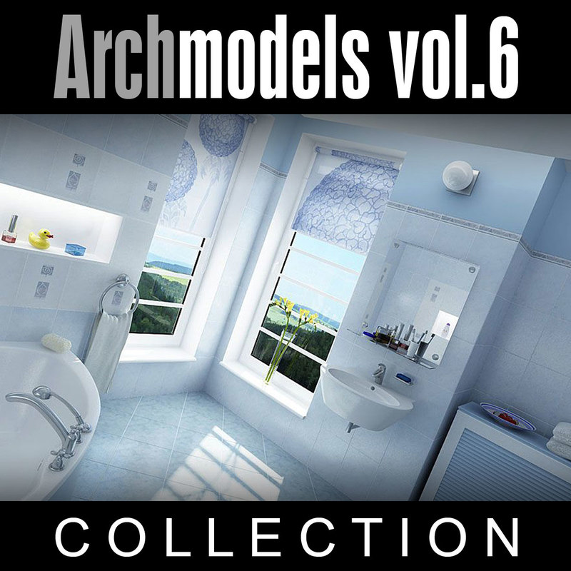 max archmodels vol 6 toilets