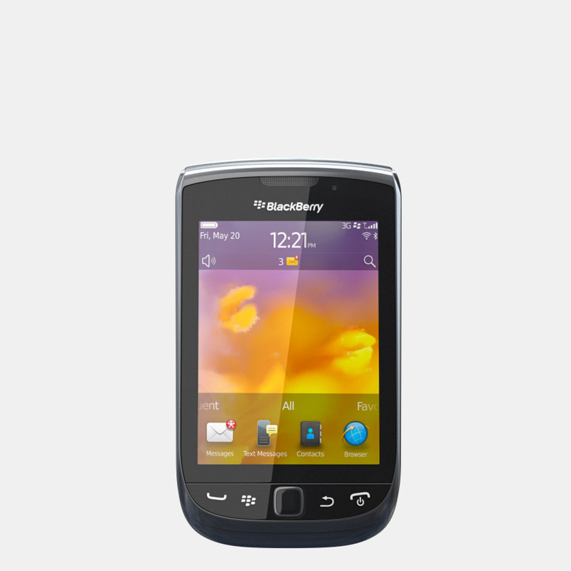 3d model blackberry torch 9810