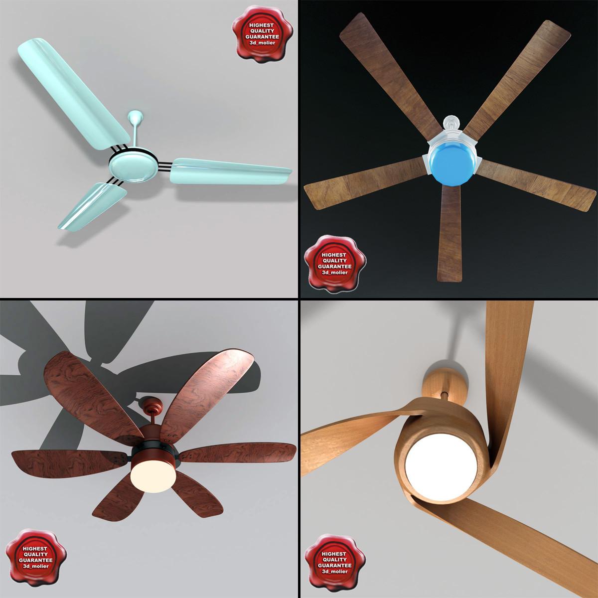 ceiling fans 3d model