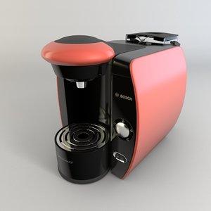 coffee maker 3d obj