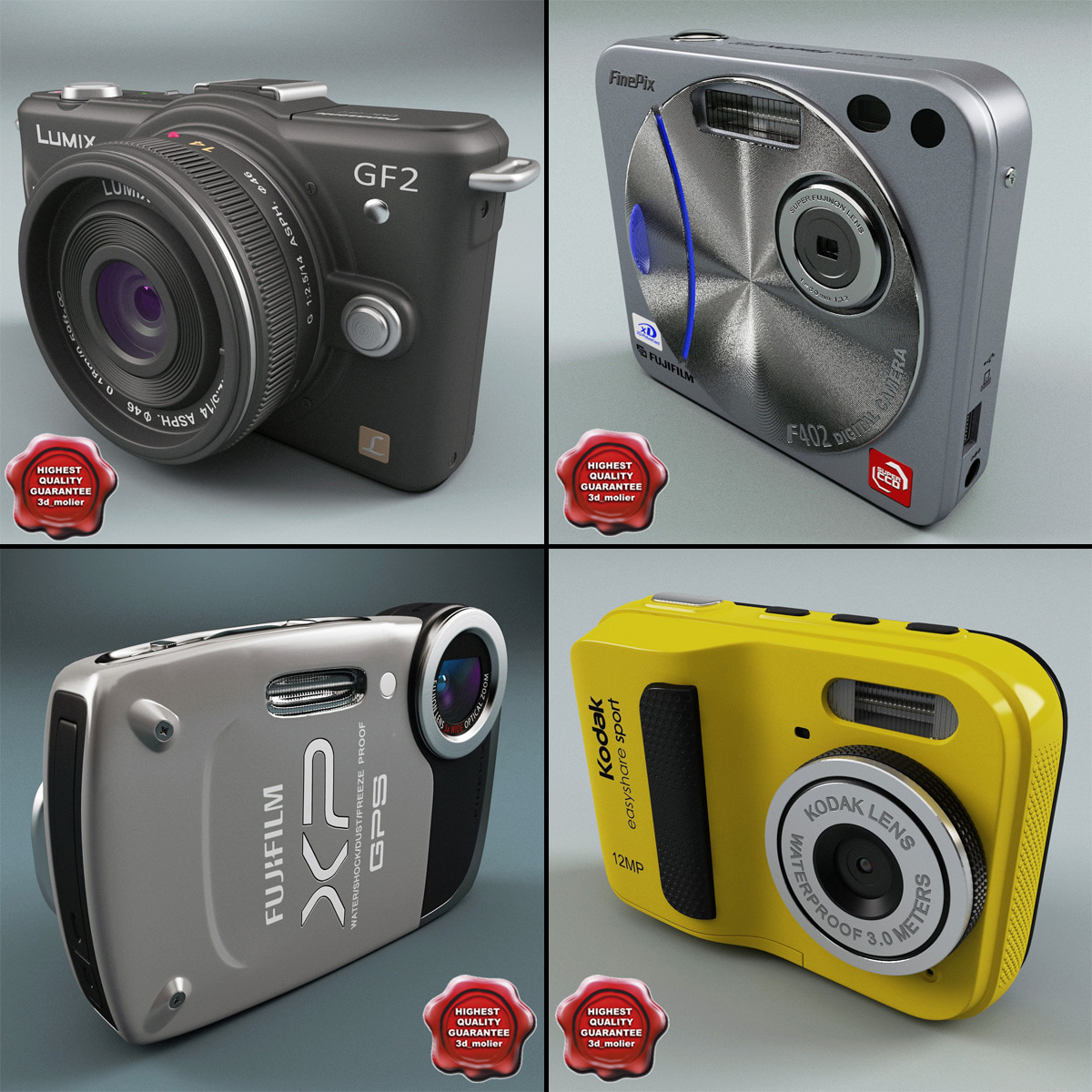 digital cameras v4 3ds
