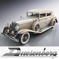 duesenberg j 232 arlington 3d xsi