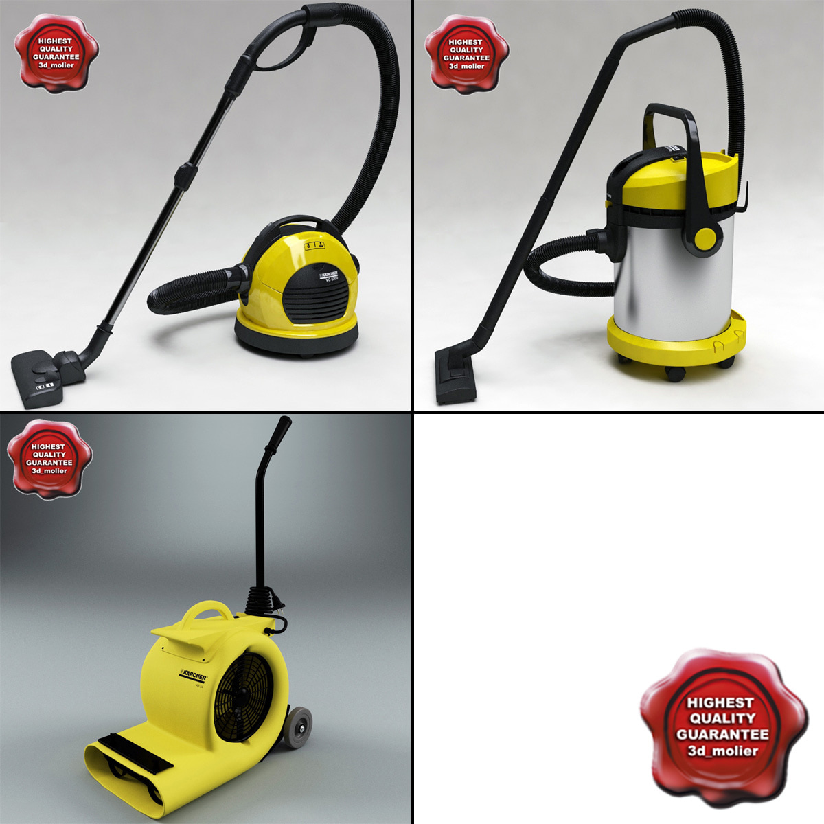 3d model karcher vacuum cleaner