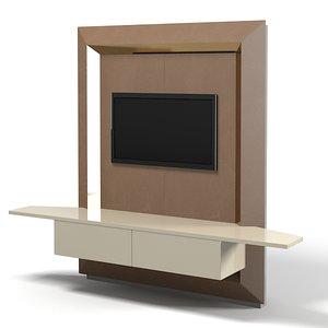 smania lbantepr02 tv 3d model
