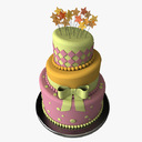 Stylized Cake