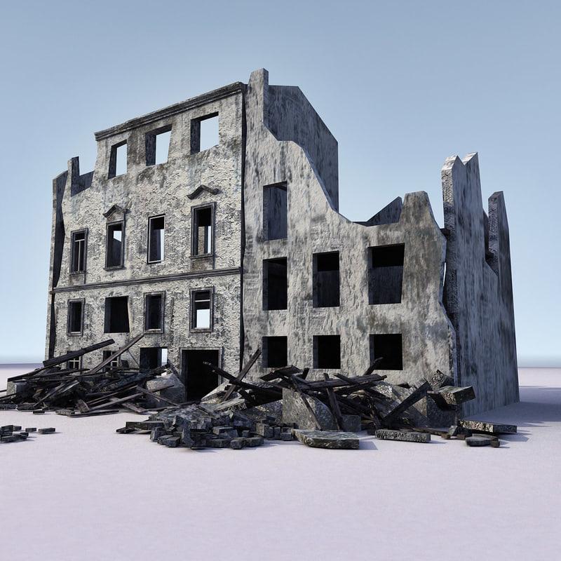 3d building ww2