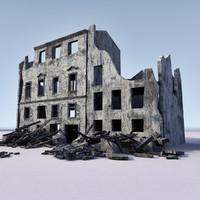 WW2 Ruin 001