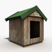 3ds max dog kennel