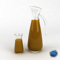 Glass Juice Pitcher_02