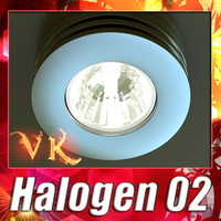 halogen lamp 02 3ds