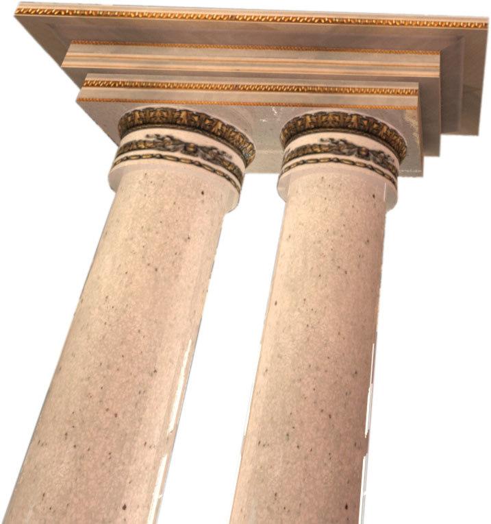 free max mode antique pillar