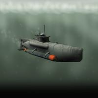 Submarine Seehund XXVIIB (late)