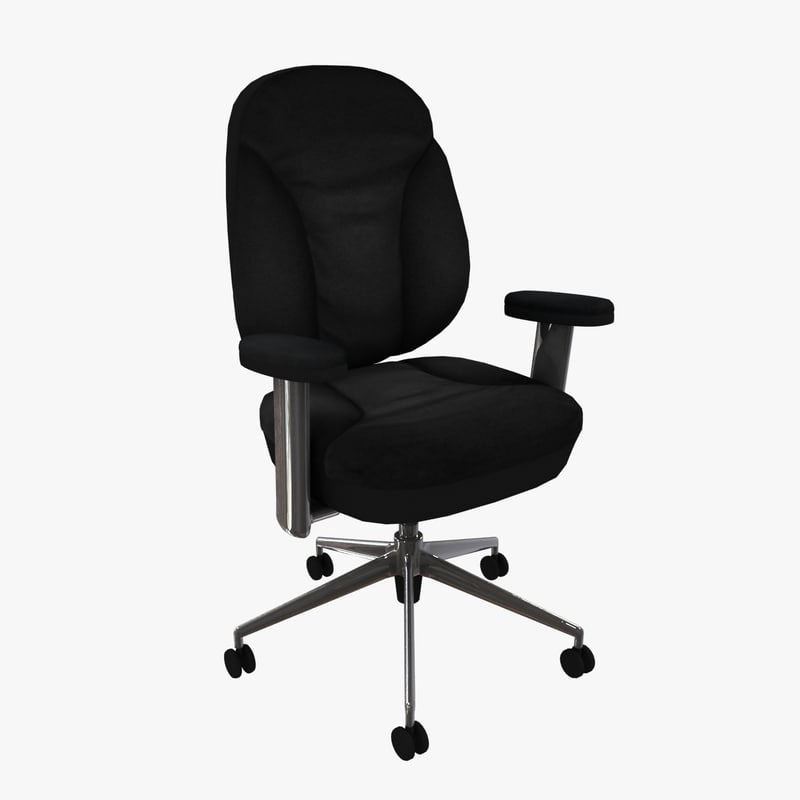 office chair 3 3d model
