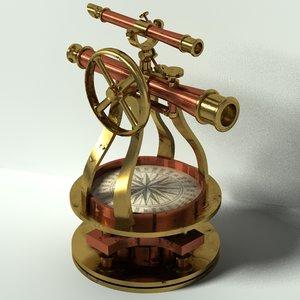 max antique surveying scope