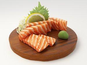 maya salmon sashimi