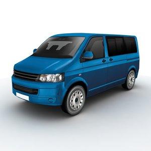 3d volkswagen transporter 2011