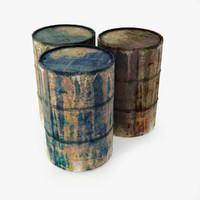 barrels 3d max