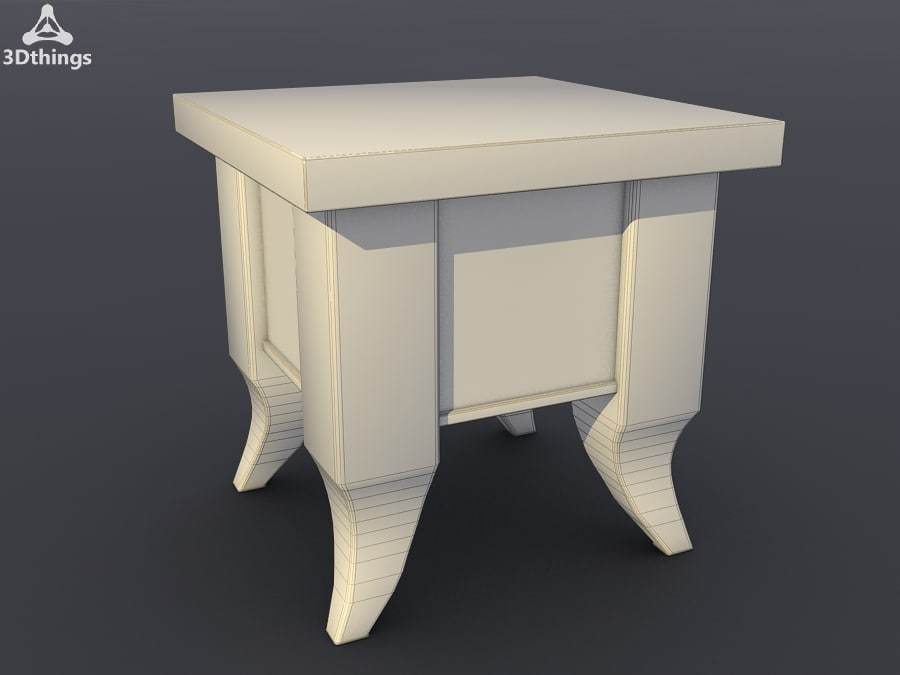 free stand closet 3d model