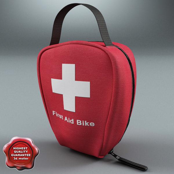 3d bike bag aid model