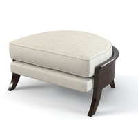 Christopher Guy Elegant Horshoe Shaped Ottoman