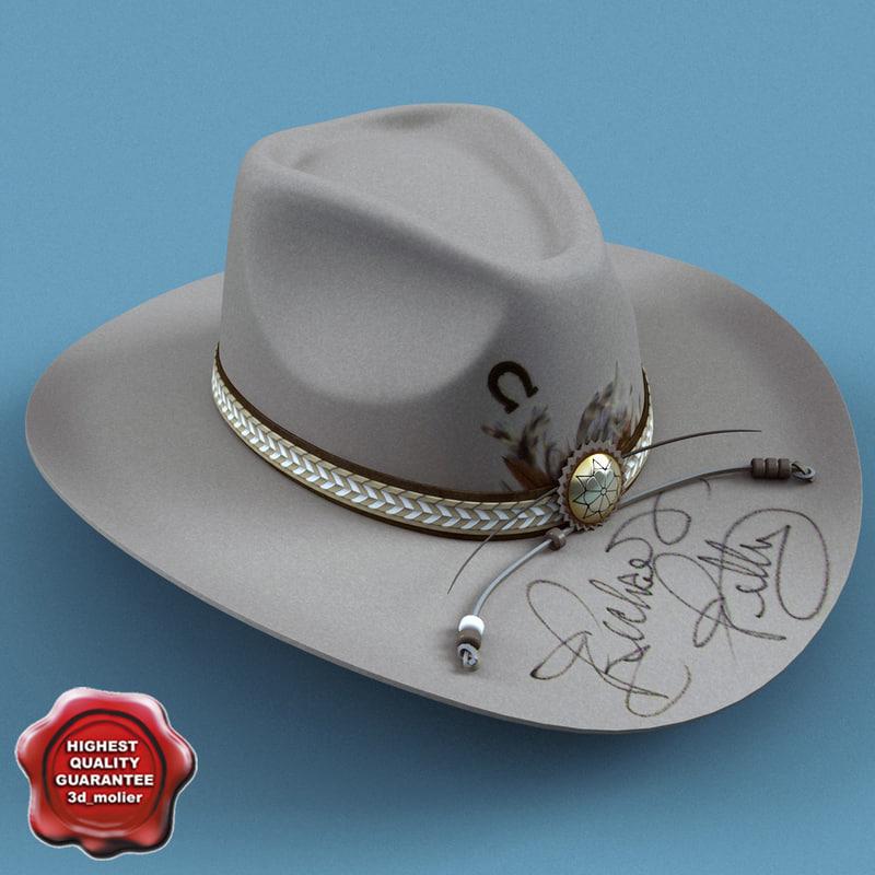 cowboy hat v6 c4d