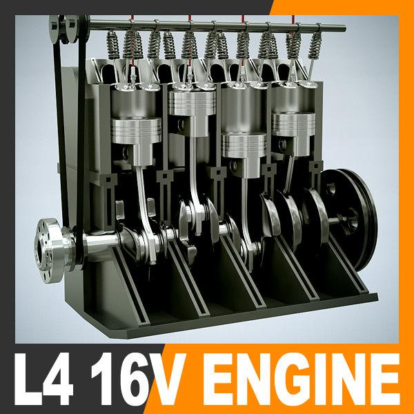 3ds max engine l4 16v section