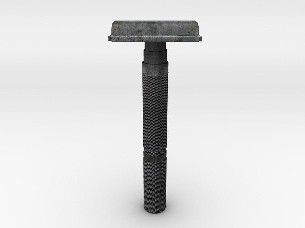 3d razor model