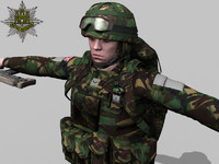 British Royal Anglian Ultimate Soldier Pack