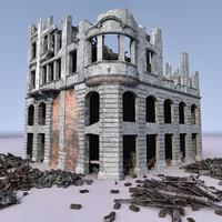 WW2 Ruin 004