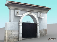 Villa main entrance 1