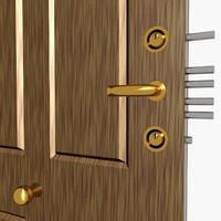 3d steel security door