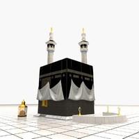 3d kaaba holy